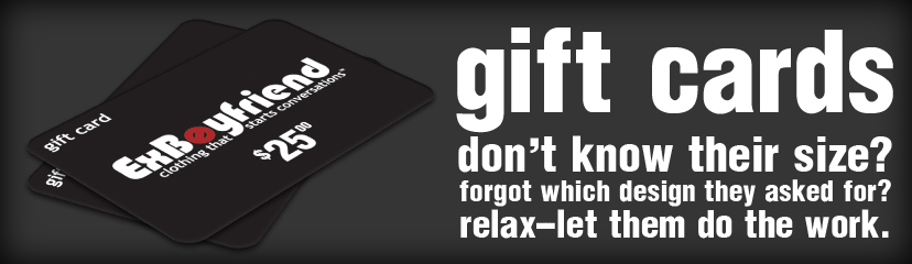 Give a T-Shirt Gift Card