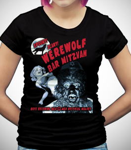 Werewolf Bar Mitzvah Ladies Organic T-Shirt
