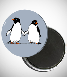 Penguin Lovers Magnet