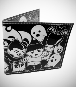 Classic Horror Movie Monsters Wallet